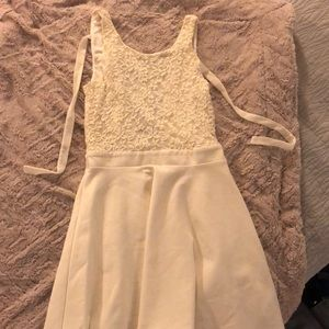 Urban Outfitters beige dress